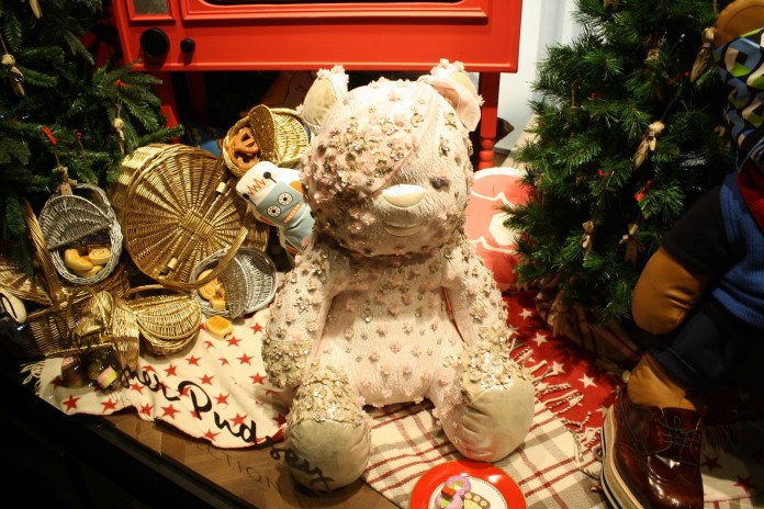 Nikki McWilliams - Selfridges Designer Pudsey Window 2012