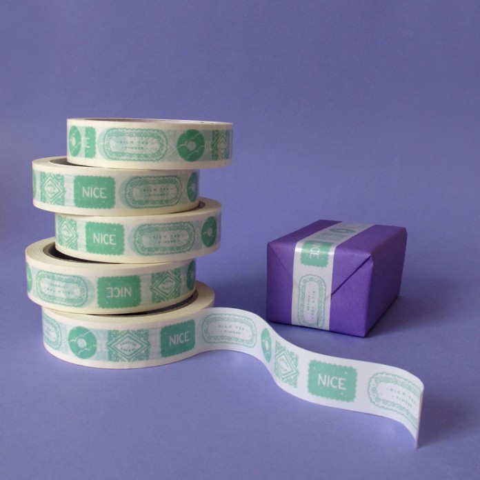 Mint Biscuits Sticky Tape