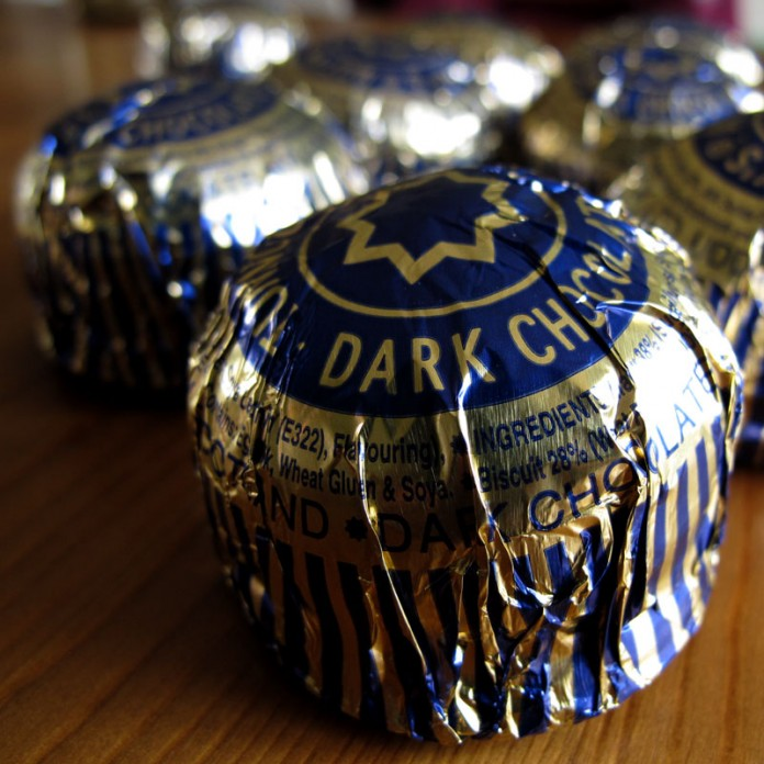 Nikki McWilliams - Dark Choc Tunnock's Teacake