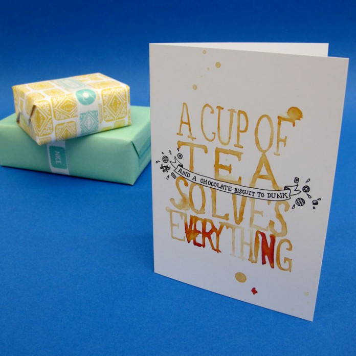 Free Personalised Greetings Card with Gift Orders
