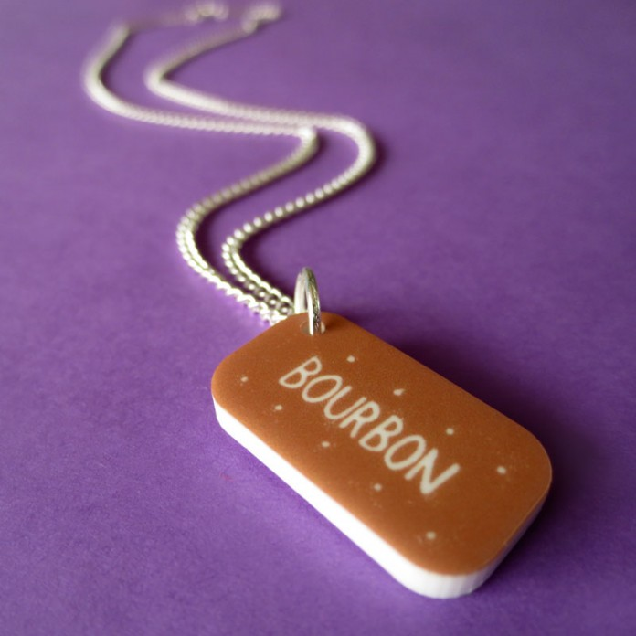 Bourbon Mini-Charm Necklace by Nikki McWilliams