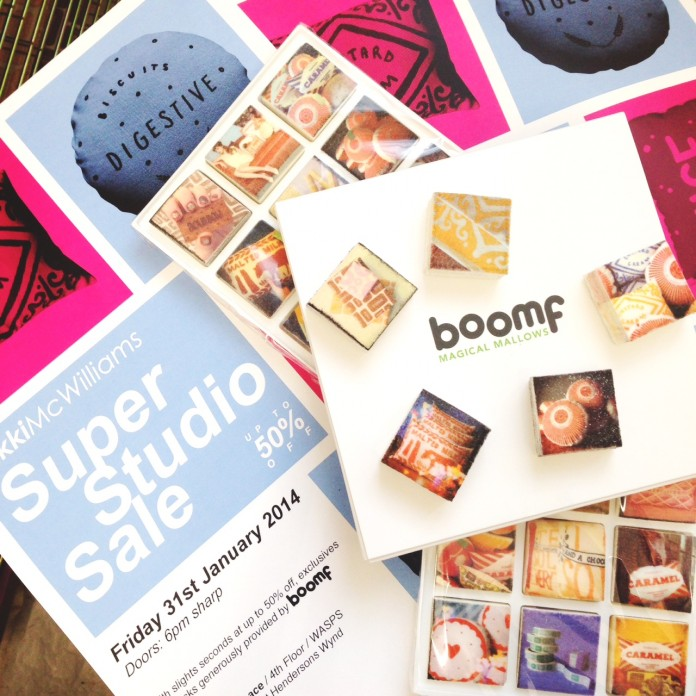 Nikki McWilliams - Super Studio Sale 2014 - with added Boomf