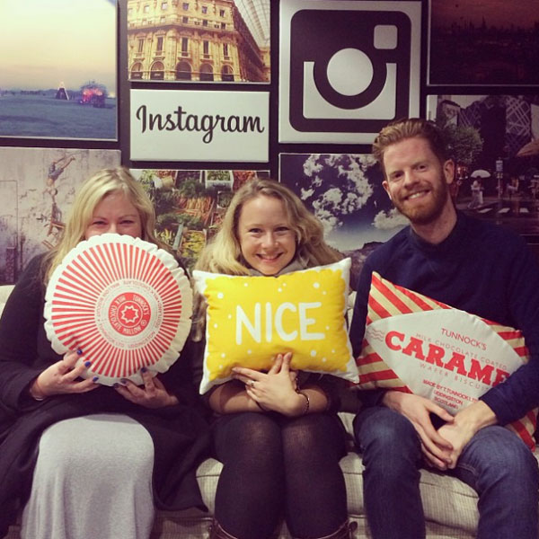 Biscuit Cushions at Instagram