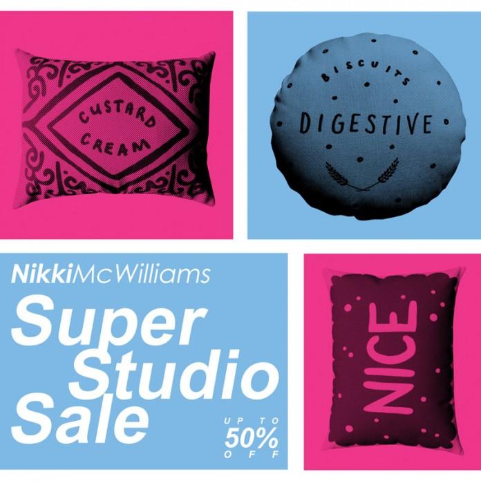 Nikki McWilliams - Super Studio Sale 2014