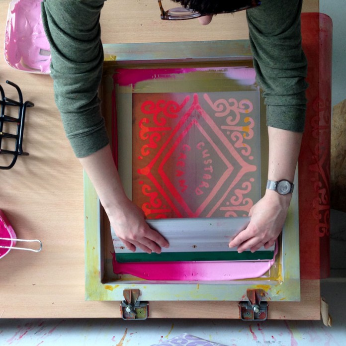 Nikki McWilliams - Printing in Ombre
