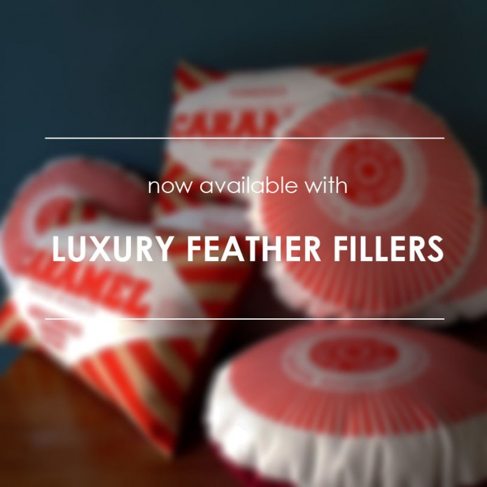 NEW: Luxury Feather Filled Cushion Pads!