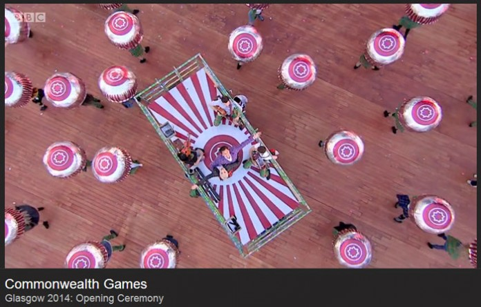 Dancing Teacakes – Commonwealth Games 2014 Highlights