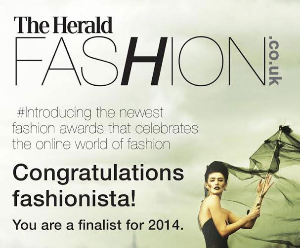 The Herald Fashion Awards 2014 – Finalist!