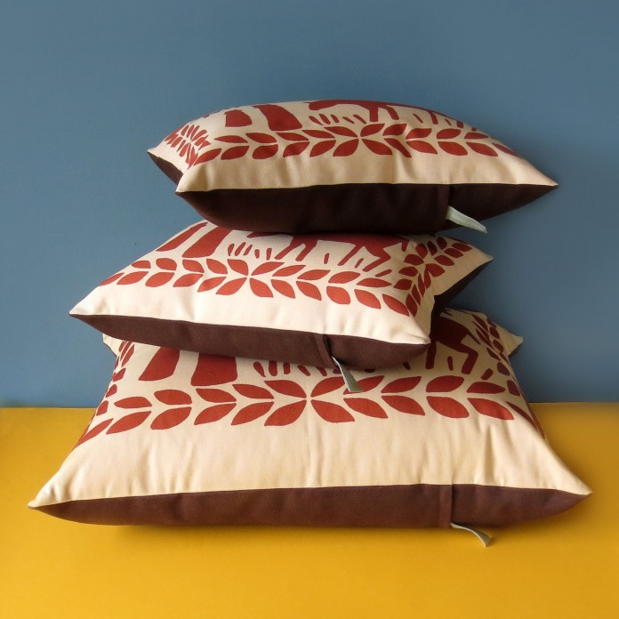 Nikki McWilliams - Supersize Malted Milk Cushion