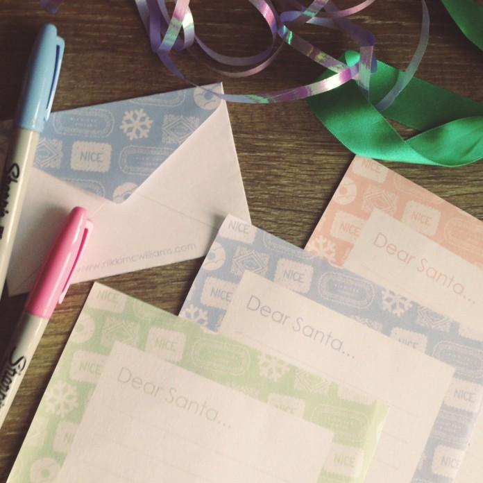 Free Printables – Letter to Santa