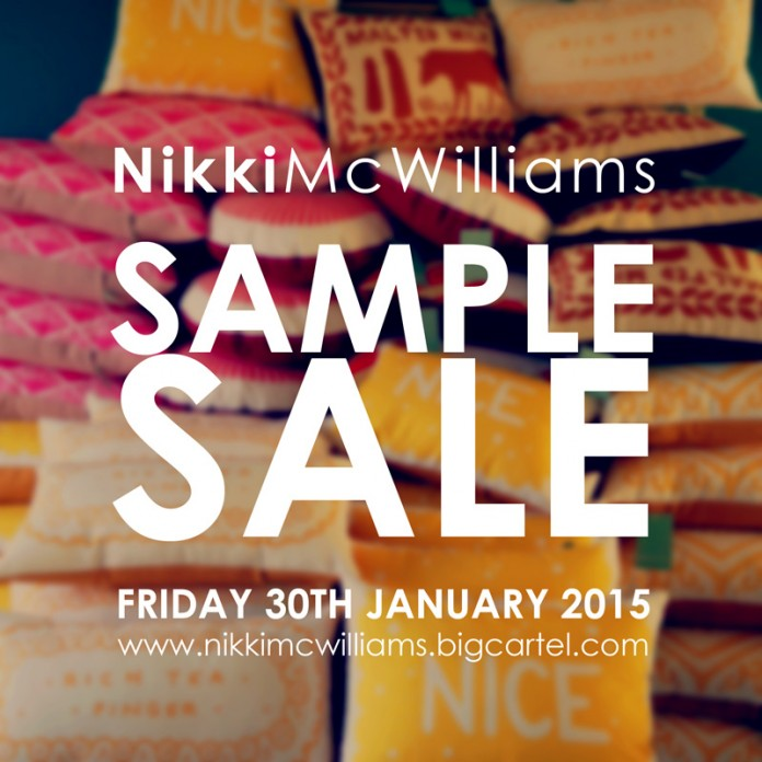 Nikki McWilliams - Sample Sale 2015