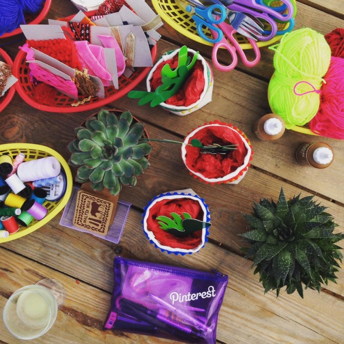 Fiesta DIY: Crafting with Pinterest's 2nd Birthday Party