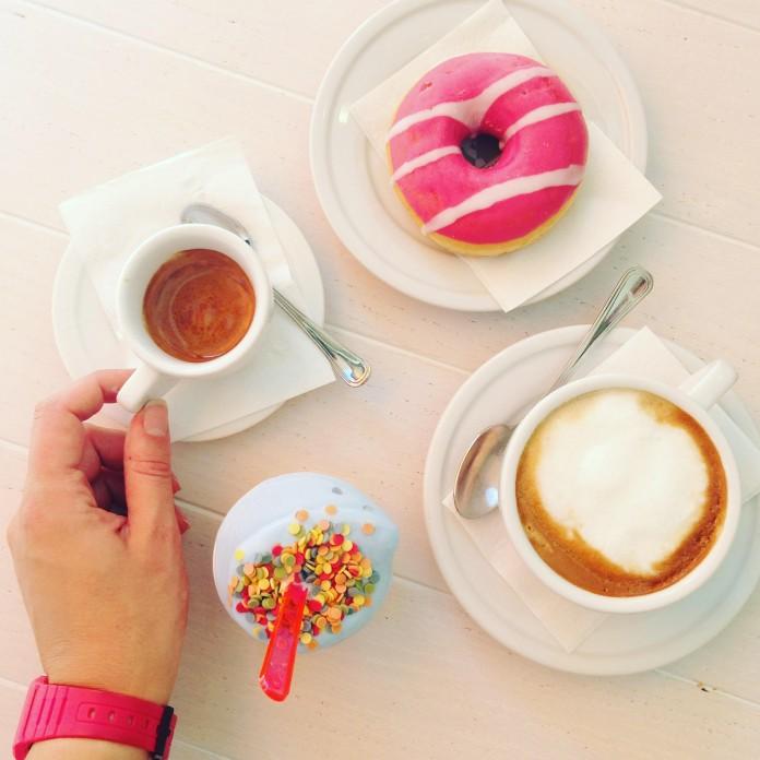 Coffee, Donuts & Gelato in Olbia, Sardinia
