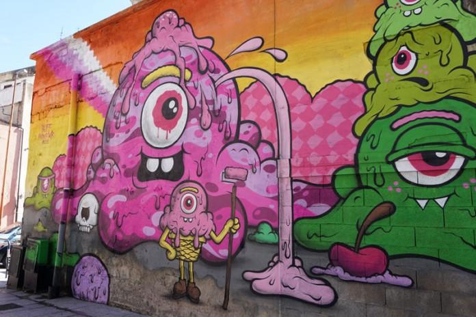Olbia - Gelato-Street Art