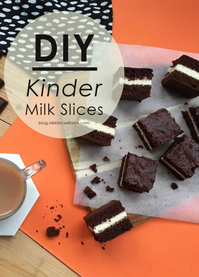 DIY Kinder Slices