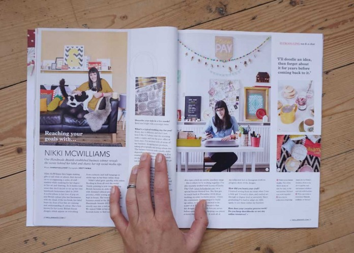 Mollie Makes Home Tour- Tea & a Chat with Nikki McWilliams