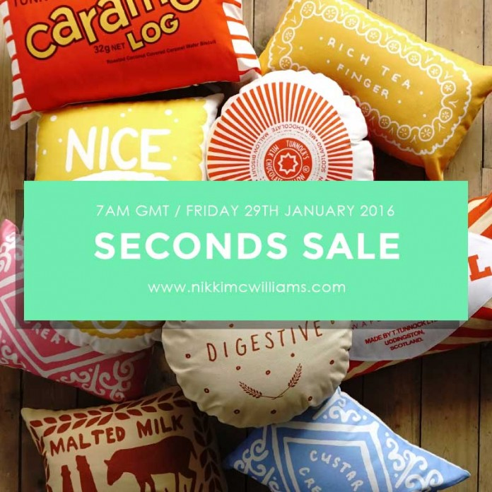 2016 Seconds Sale