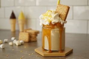 Custard Cream Biscuit Freakshake by Nikki McWilliams