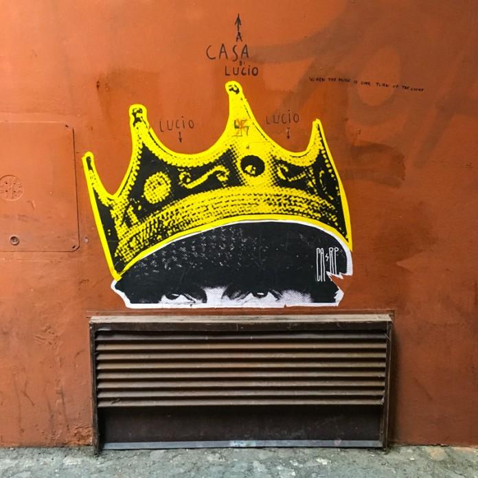 Street art in Bologna, Italy
