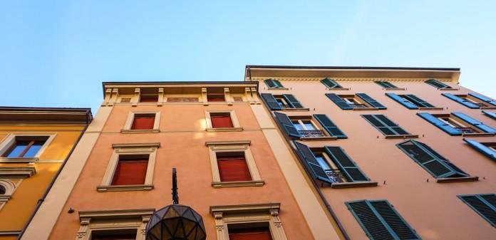 Peach & Terracotta in Bologna, Italy