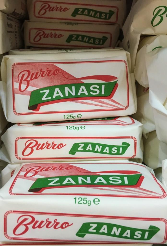 Joyful italian butter packaging