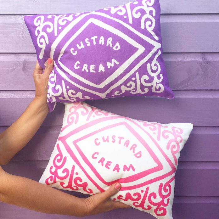 Nikki McWilliams Biscuit Cushions