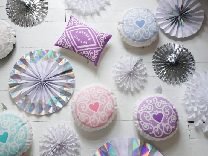 Nikki McWilliams - Pastel Biscuit Cushions