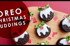 Biscuit Crafts – Oreo Christmas Pudding DIY