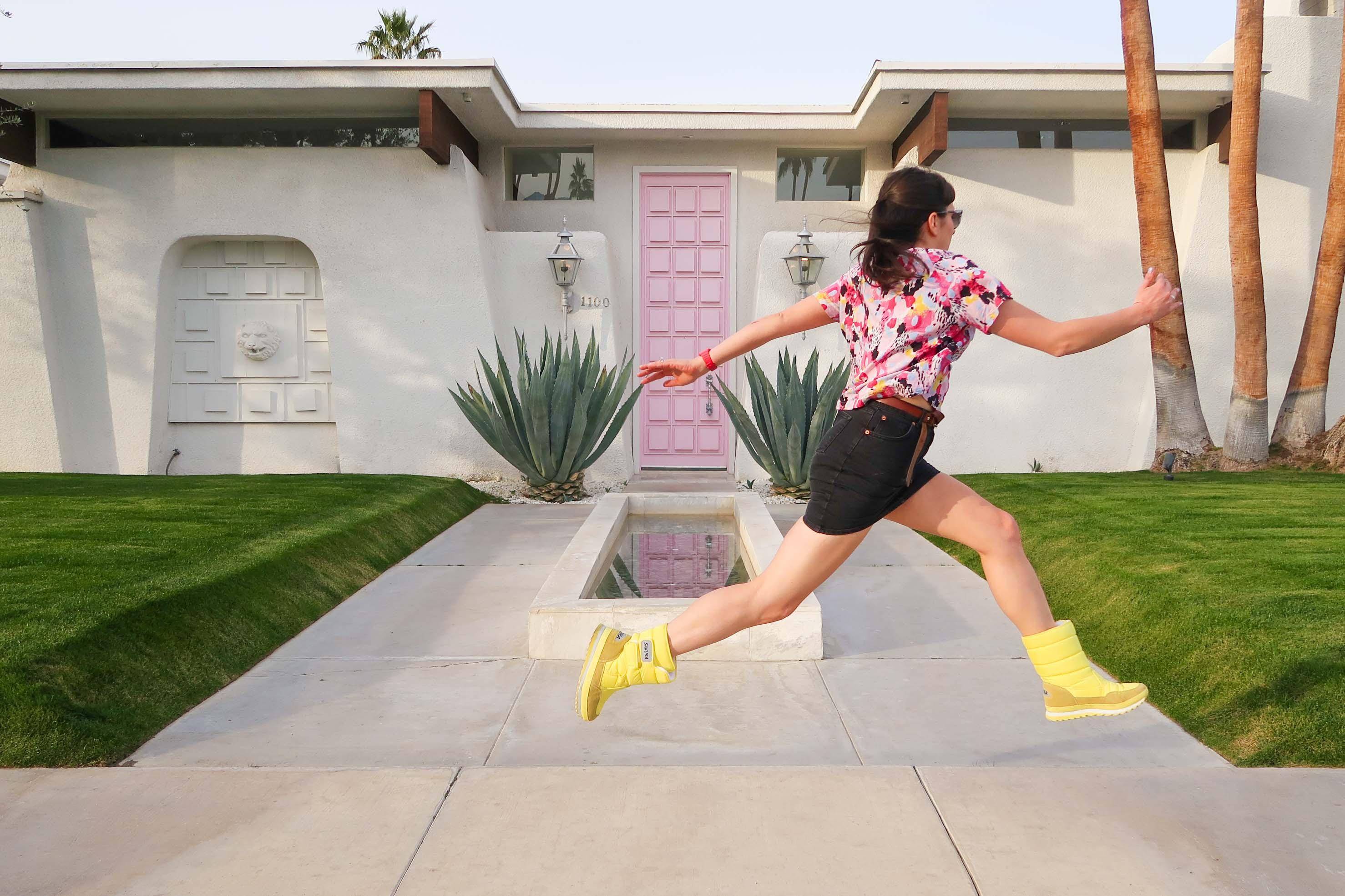 That Pink Door, Palm Springs