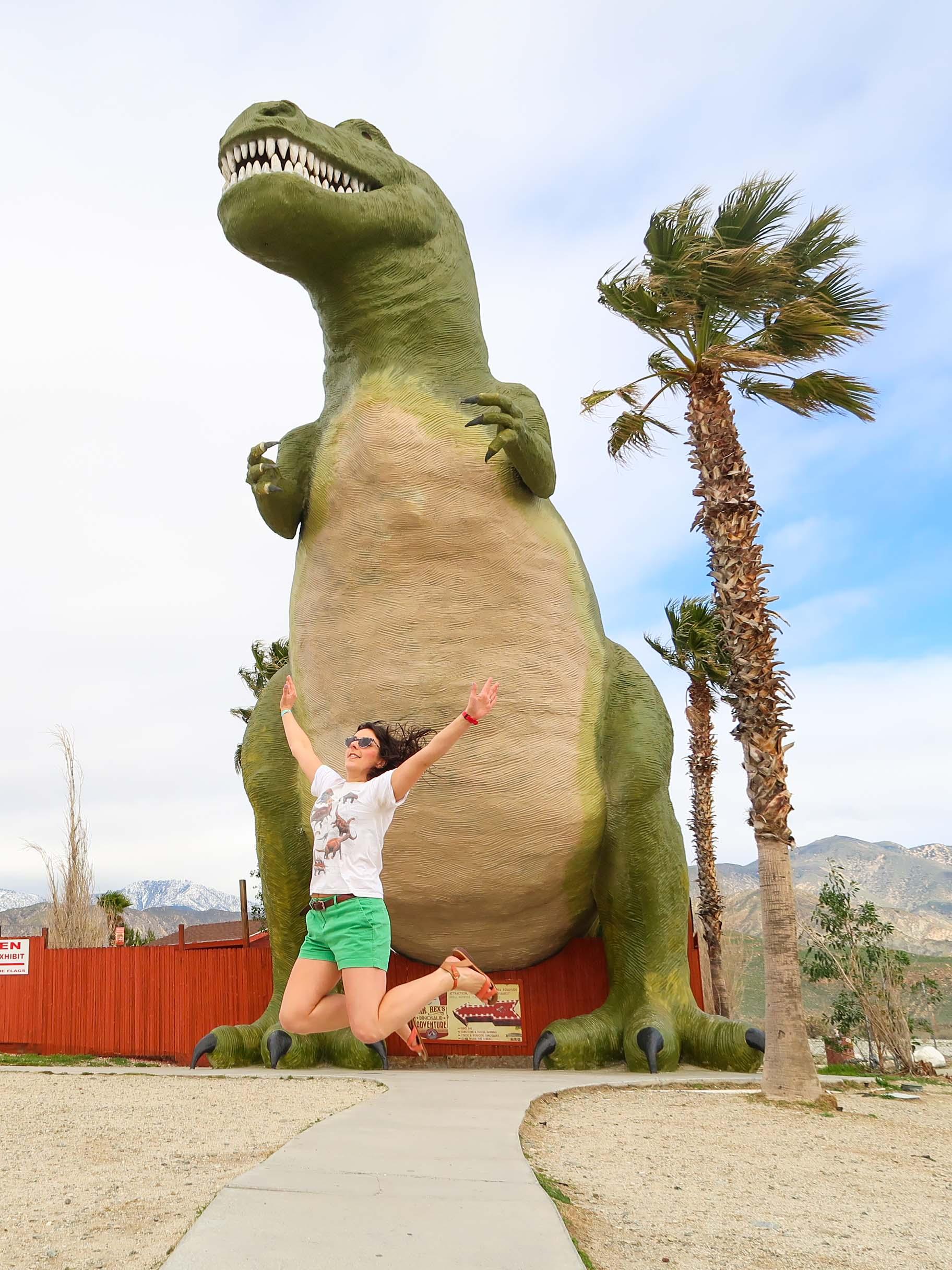 The Cabazon Dinosaurs, Palm Springs