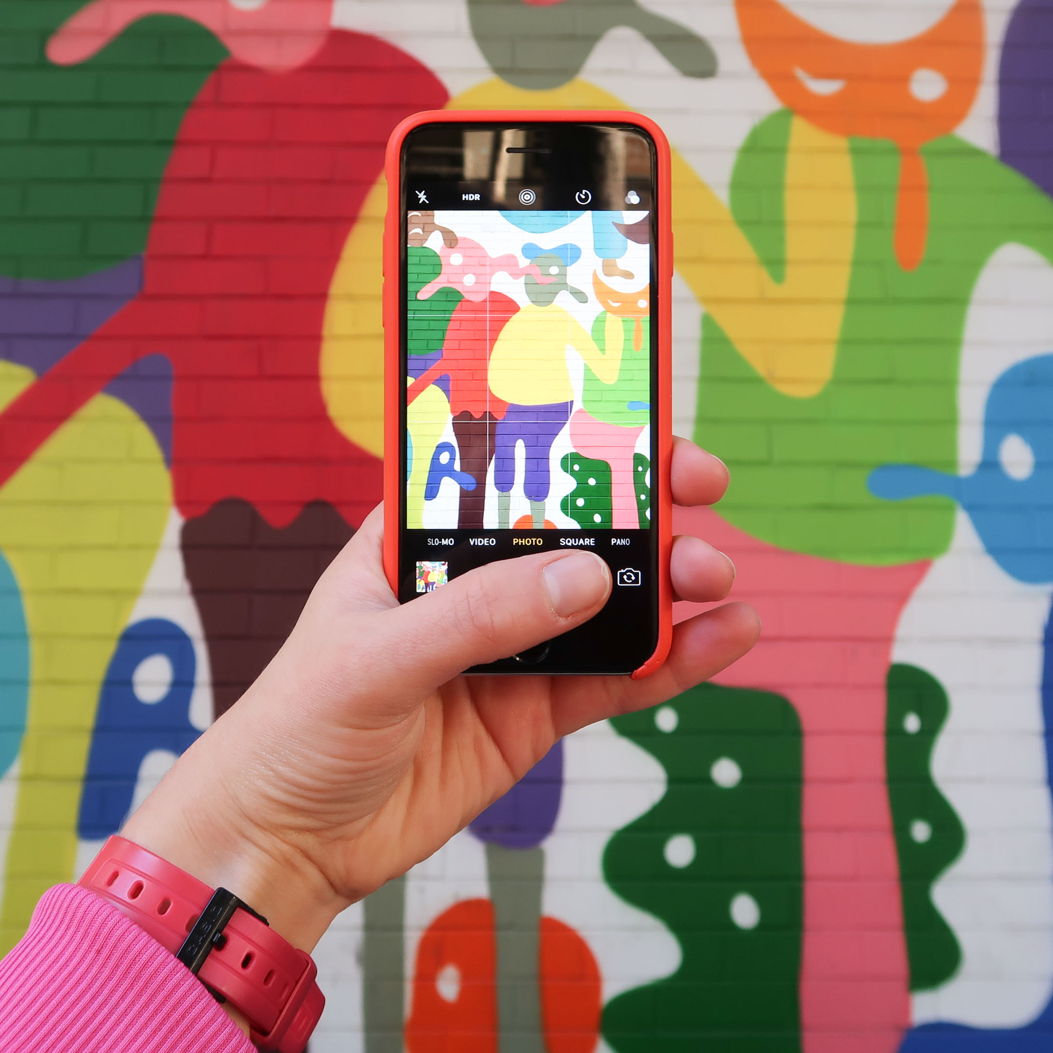 Snapping the most colourful murals in Downtown LA