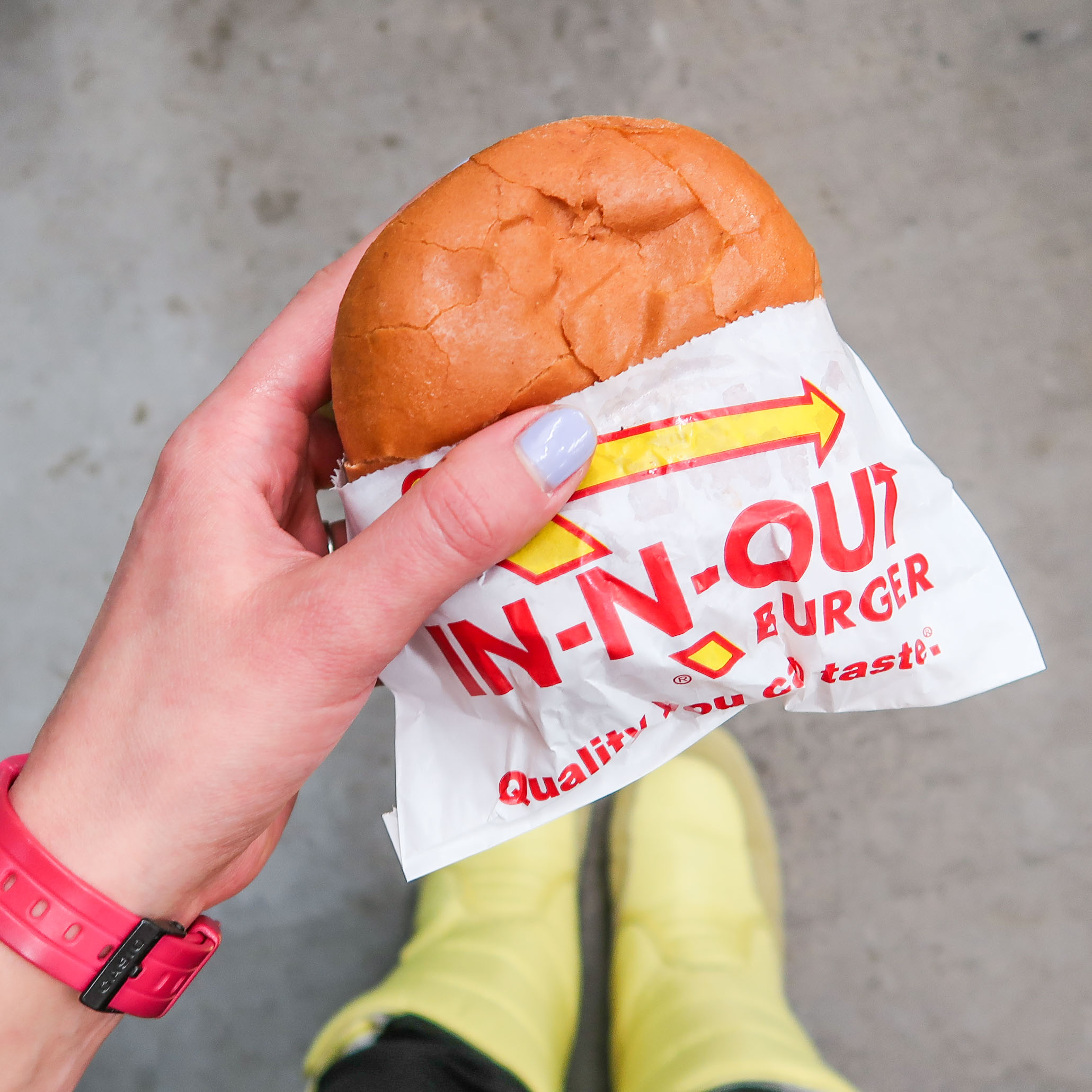 Trying In-N-Out Burger
