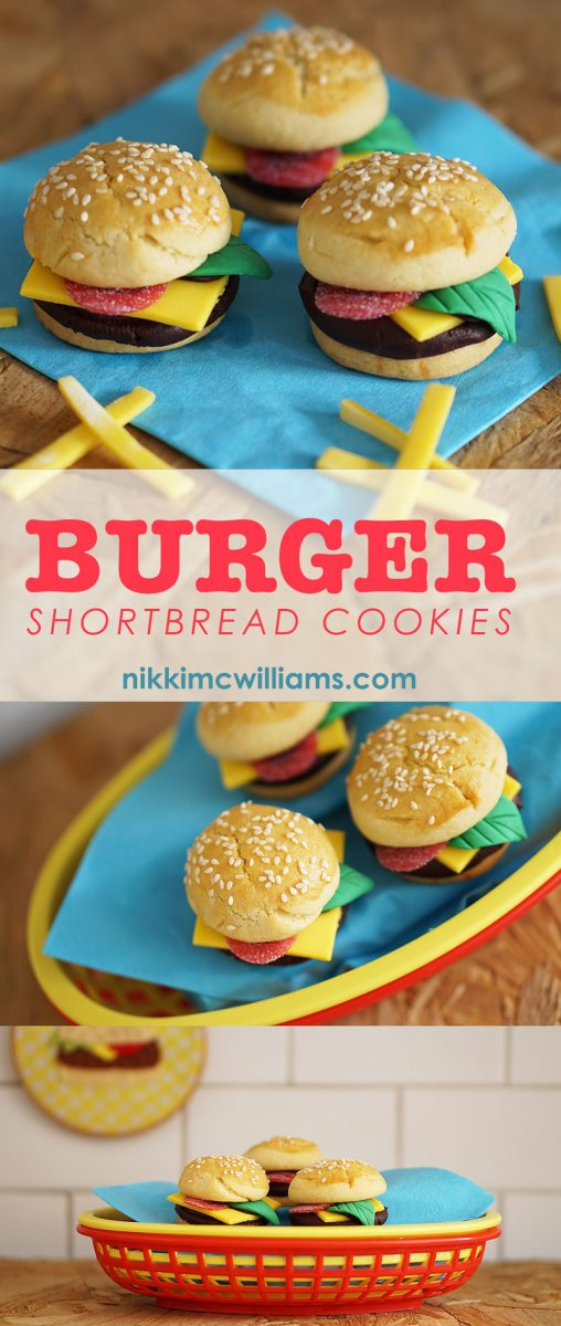 Nikki McWilliams - Burger Shortbread Cookie Recipe