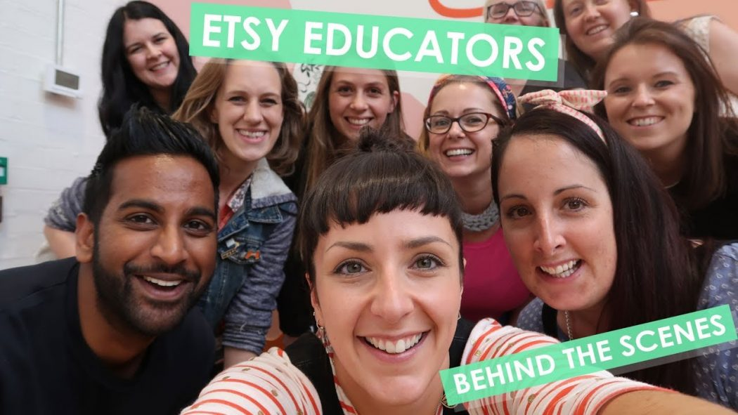 My First Online Course – Launch Your Creative Business with Etsy!