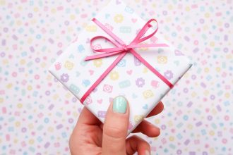 Nikki McWilliams Pastel Gift Wrap