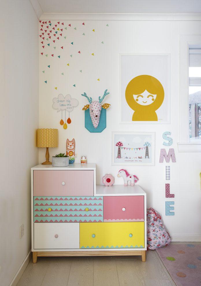 Rachel Henderson's Colourful Home