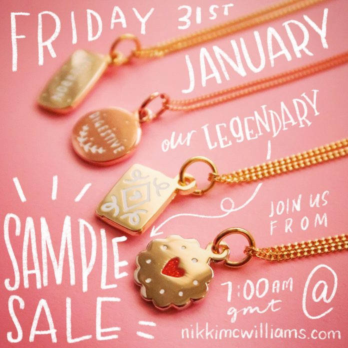 Our Legendary Sample Sale – 2020