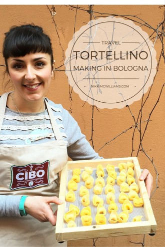 Learning to make Tortellino in Bologna, Italy