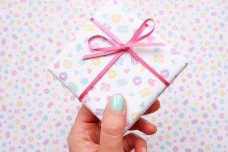 Nikki McWilliams Pastel Gift Wrap